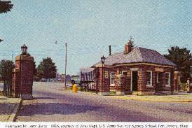 FD202 Main Gate at Fort Devens Ayer Massachusetts