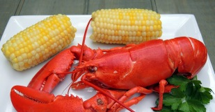 Lobster and corn on the cob 6 30 2017