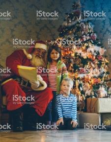 Whispering the hidden dreams for Santa Claus